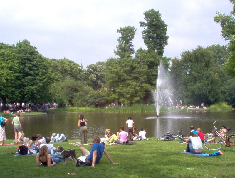12 Things To Do In Amsterdam 2019 / Vondel Park