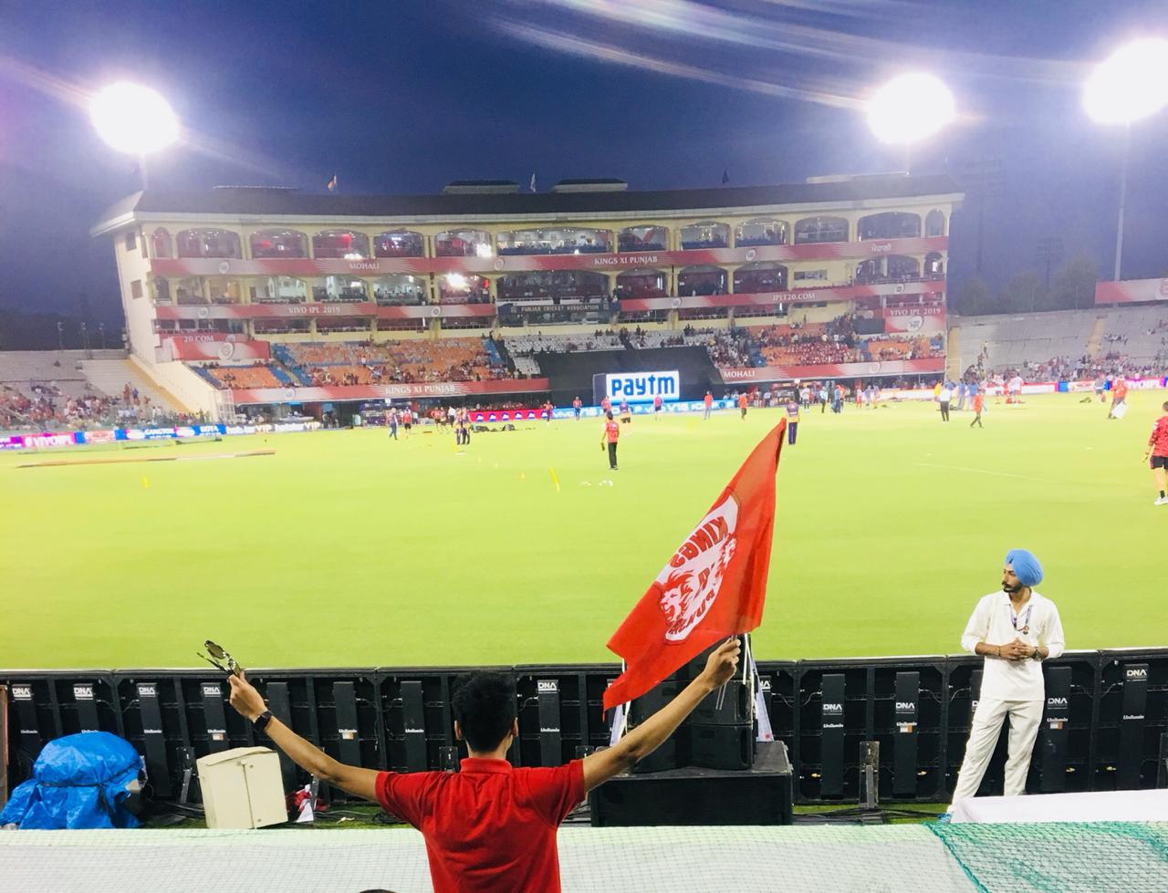 The Ultimate Match Viewing Experience At PCA IS Bindra Stadium Mohali With DNA Networks
