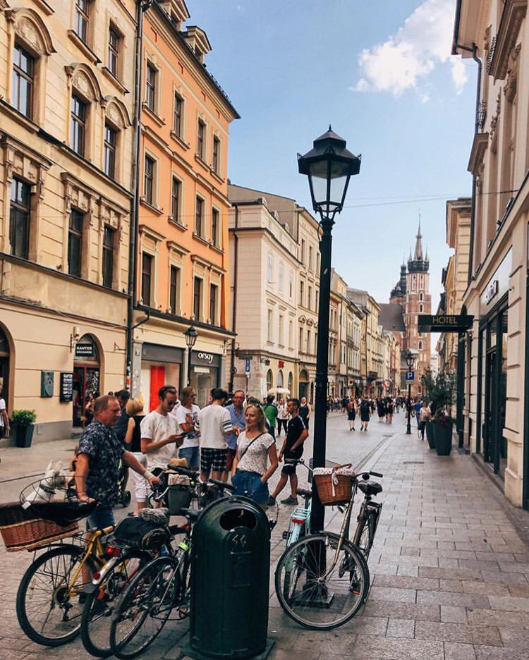 Florianska Street / Top 9 Reasons To Visit Krakow, Poland