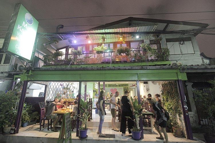 TSG's 7 Best Vegetarian Restaurants In Bangkok, Thailand / May Kaidee Restaurant