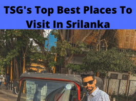 Best Places To Visit In Srilanka