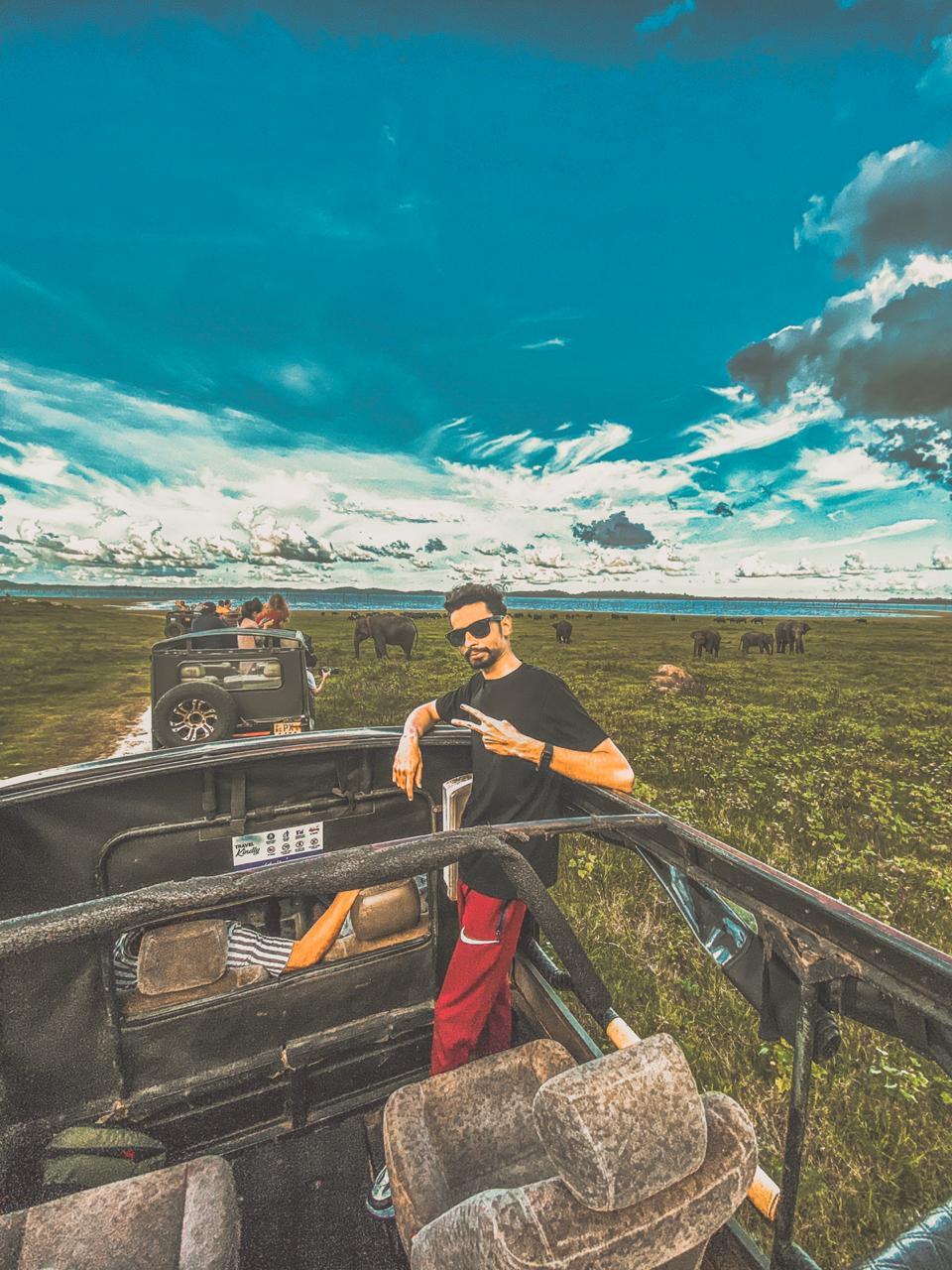 Jeep Safari Kaudulla National Park
