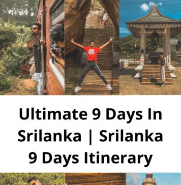 Srilanka 9 Days Itinerary