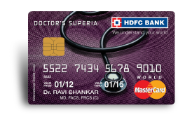 HDCF Doctors Superia Credit Card