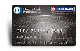 HDFC Bank Diners Club Black Card