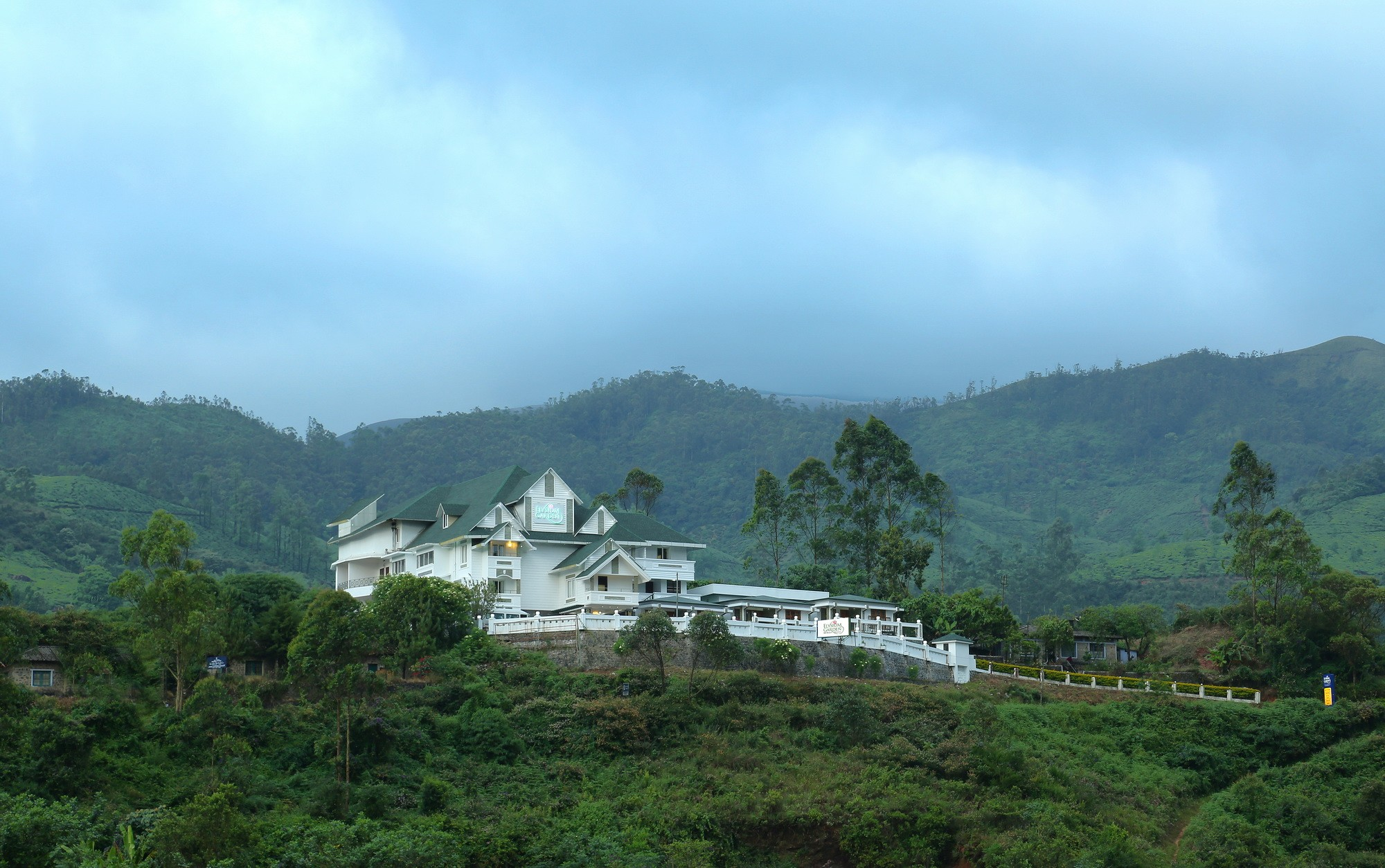 Best Hotels In Munnar - Elysium Garden Resort
