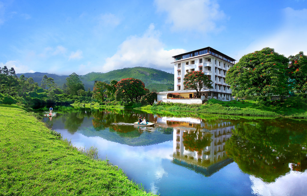 Best Hotels In Munnar - Westwood Riverside Garden Resort