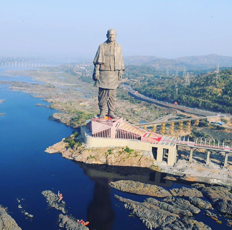 11 Best Places To Visit In Gujarat / Statue Of Unity