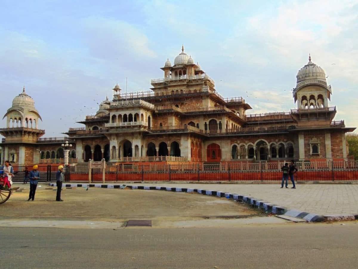 Best Instagrammable Places In Jaipur - Albert Hall Museum