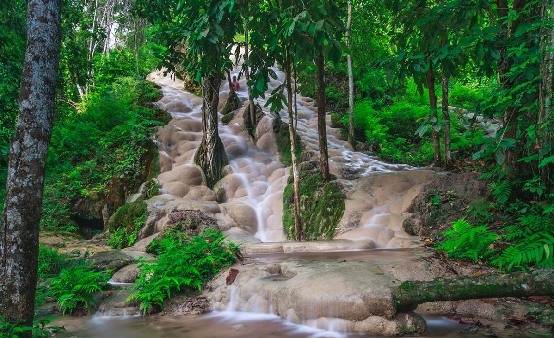Bua Thong Waterfalls / 13 Best Things To Do In Chiang Mai, Thailand