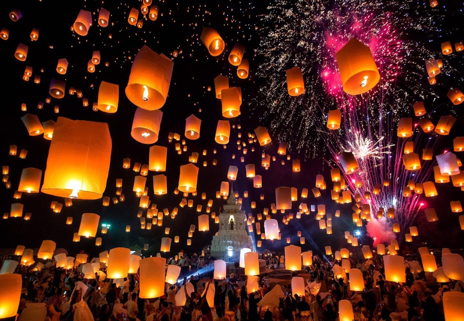 13 Best Things To Do In Chiang Mai, Thailand / Lantern Festival
