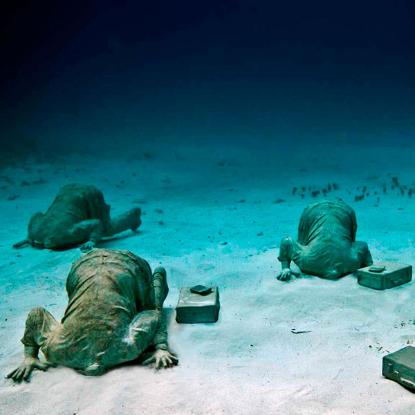 Best Things To Do In Cancun / Scuba Diving At MUSA Underwater Museum