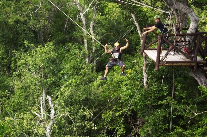 Best Things To Do In Cancun / Zip Lining At Selvatica Park