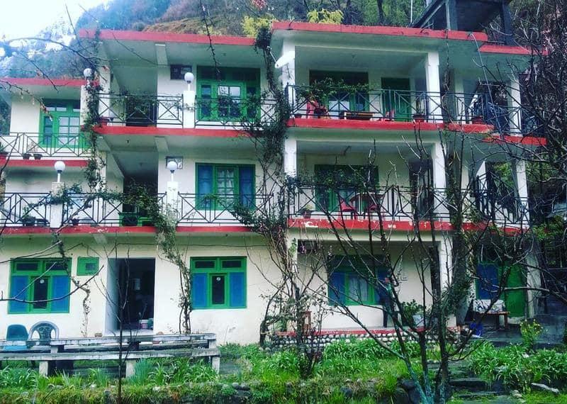 Rockway Hostel & Cafe / One Of The Best Hostels In Manali