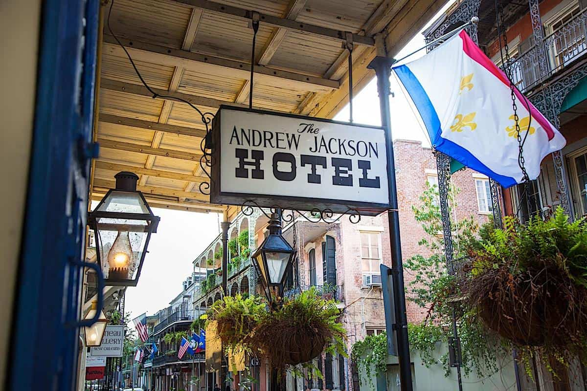 Best Hotels In French Quarter / Andrew Jackson Hotel