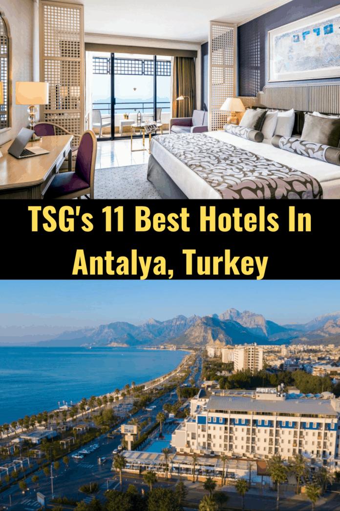 Best Hotels In Antalya