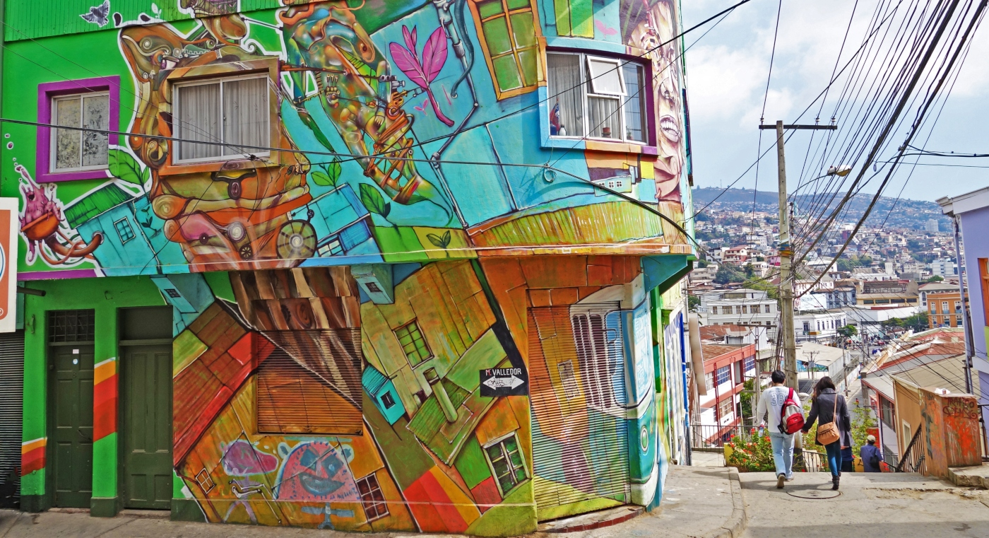 The Stairs Of Valparaiso / Best Places To Visit In Valparaiso